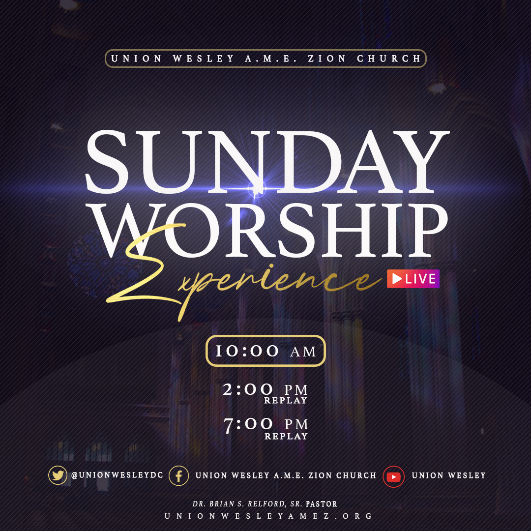 worship experience flyer copy